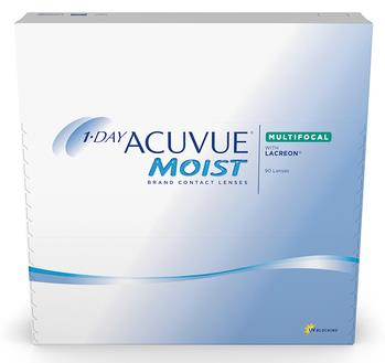 1·Day ACUVUE® Moist® Brand Multifocal Contact Lenses Banner